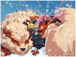 Christmas Pokemon by red-monkey