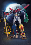 Voltron by red-monkey