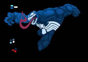 Venom WIP by bennyfuentes