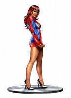 Mary Jane Spiderman by Spears by markman777