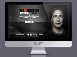 We R Massive Radioshow by GetFar by CrisTDesign