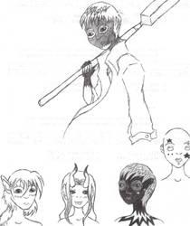 Random Characters by ranmaru-chan