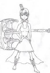 Umbrella Witch by ranmaru-chan