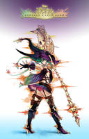 FEZ - Dragon Sorceress by louten