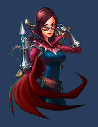 Vayne - Commission by louten