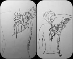 tattoo design I by VersperaTheCreation