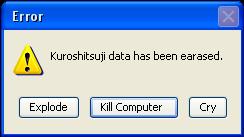 Kuroshitsuji Error by Mastia