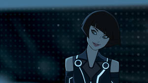 Quorra Tron legacy sketch by songjong