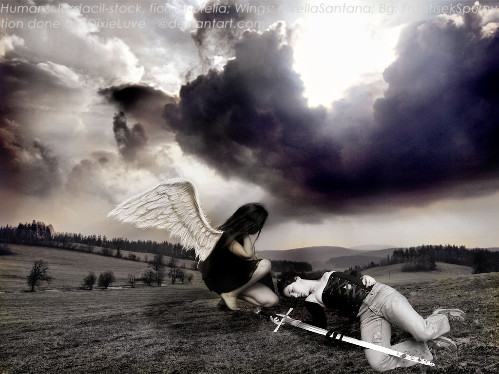 My Guardian Angel Came too late by DixieLuve