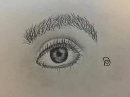 Eyeball by DixieLuve
