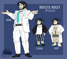 [MORPHERS] Bosco D. Ridley by zigzaggin-goon