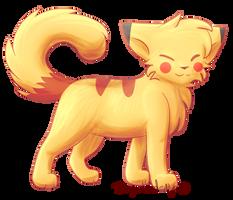 Pika Cat by SkyDreamer-Nya