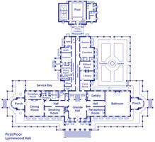 Lynnewood Hall First Floor by Viktorkrum77
