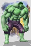 Avengers Hulk by Mr-Donkeygoat