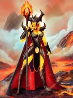 Fire wizard concept by Mr-Donkeygoat