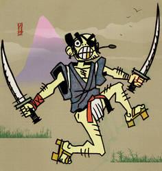 Samurai Chumpaloo coloured by yunni