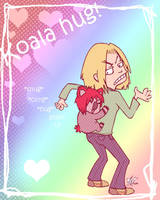 Koala hug by yunni