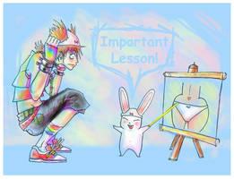 Teru - Gift art by yunni