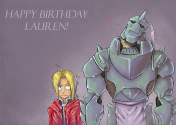 Happy Birthday SISTERRRRR by yunni
