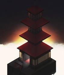 Pagoda by KTMiz