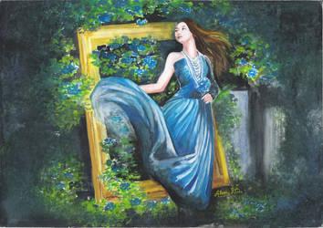 Beauty Blue (Wakana) by AlexaDS