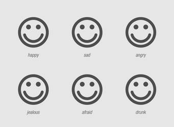 emotion chart. by shutdown