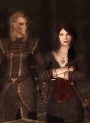 Marceline and Elenwen by Lesliewifeofbath