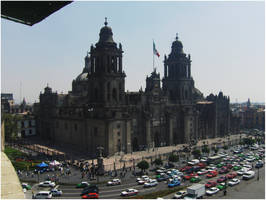 Mexico City Cathedral by Linwe-Limballanwe