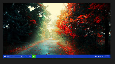 Concept 2: Windows10 Desktop + Taskbar by JFIII