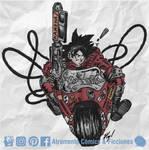 Goku Kanaeda by atramento-negro