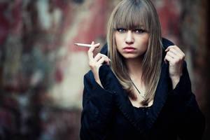 cigarette by athrawn