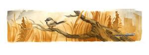 November Chickadee by blix-it