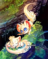 Minccino Pokemon by blix-it