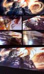 Underworld Overworld Foil Poster by blix-it