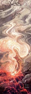 Arcanine Caldera Spirit by blix-it