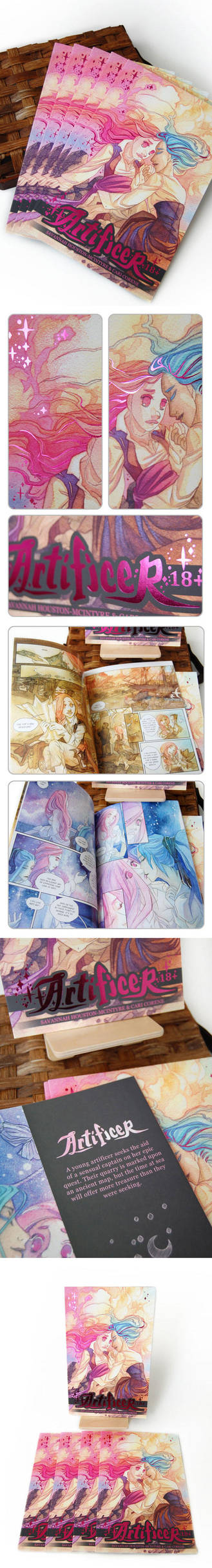 Artificer Book Photos! by blix-it