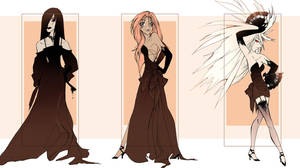 Coffee Colored Fashion by blix-it