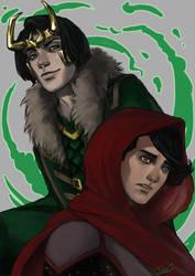 Looming Loki by toherrys