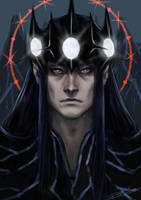 Morgoth doodle by toherrys