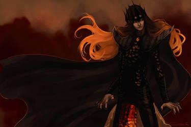 Sauron by toherrys
