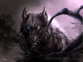 Realm [One hour painting-practise] by Lunegrimm