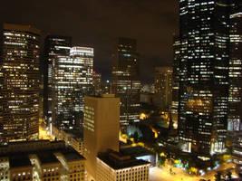 The City at Night by AnemosDrakontas