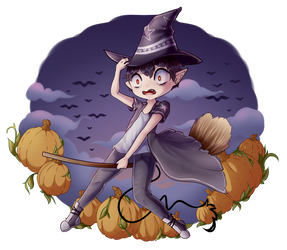Witch Raytian by xRaytian