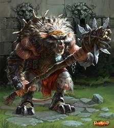 rat heavy warrior by dron111