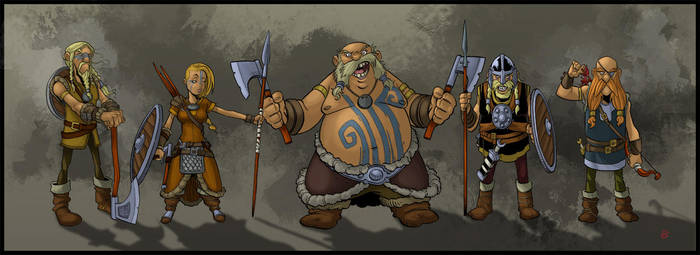 Vikings by drvce