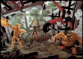 Fantastic Four by drvce