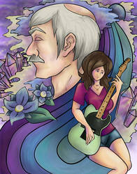 While My Guitar Gently Weeps by CreatingChaos