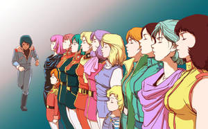 Kamille Bidan and Women of Zeta Gundam