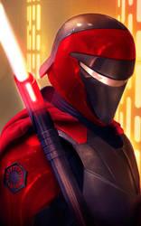Carnor Jax - The Crimson Sith Lord by ChaosEmperor971