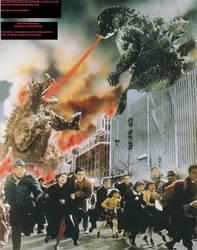 Day of The Apocalypse - Godzilla's Counterattack by ChaosEmperor971